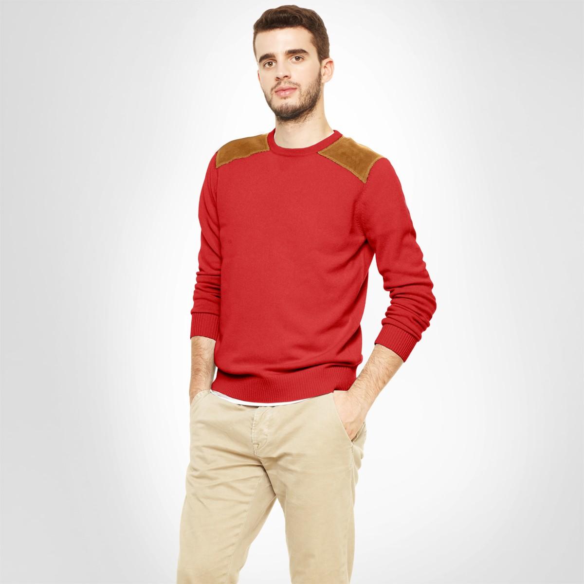 Vestimentaire Pep's Votre De Pull Rouge Touche Tenue HommeLa iOkXuZP