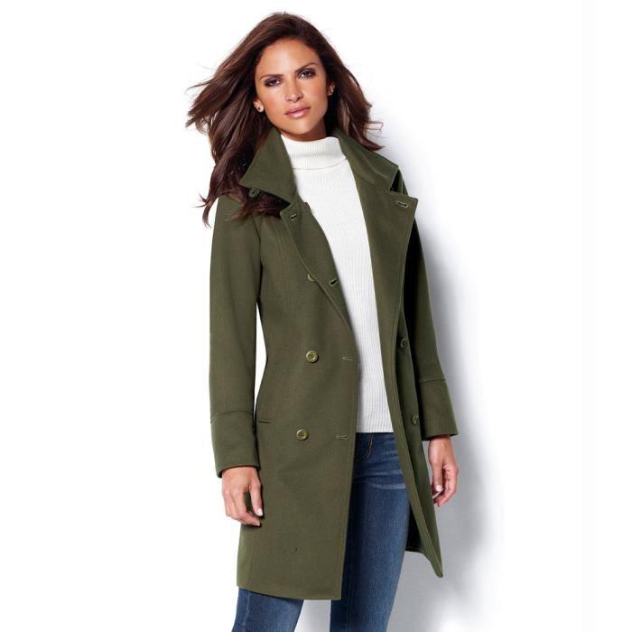 Un look stylé avec les manteaux femme