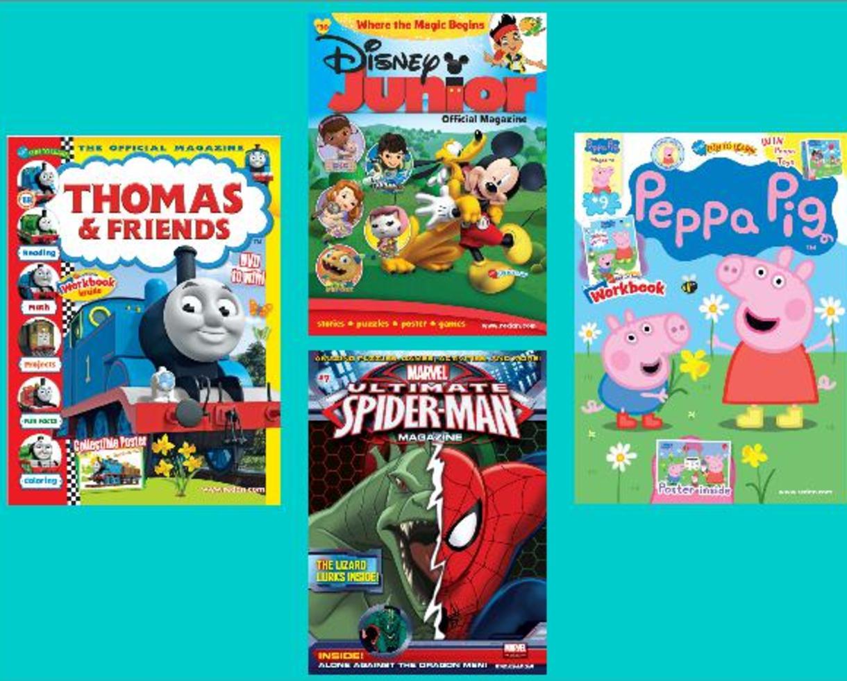 Disney junior : l'éveil de la lecture